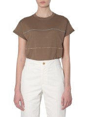 BRUNELLO CUCINELLI - T-SHIRT IN COTONE EXTRAFINE