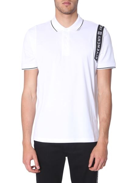 Givenchy - Polo Con Striscia Givenchy 4g
