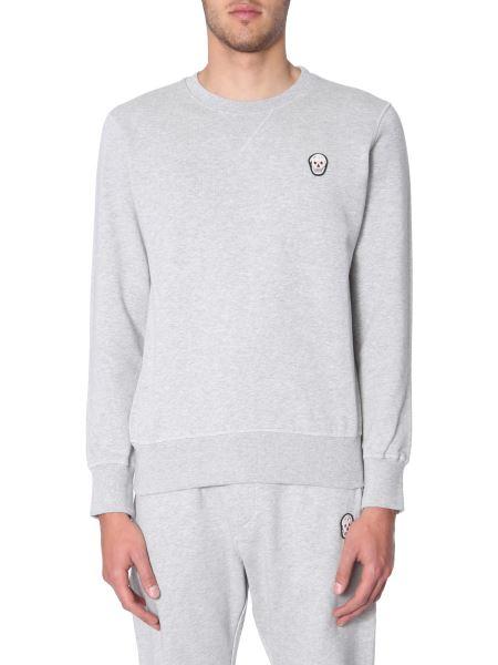 Alexander Mcqueen - Skull Patch Cotton Sweatshirt