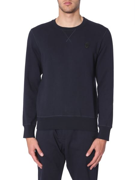 Alexander Mcqueen - Patch Skull Cotton Sweatshirt