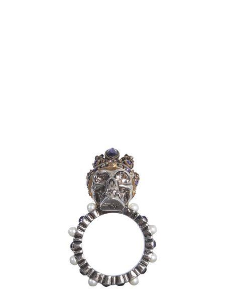 Alexander Mcqueen - Skull Queen Brass Ring