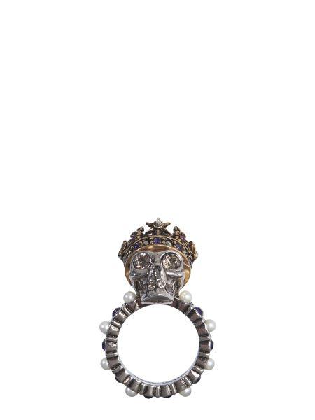 Alexander Mcqueen - Skull King Ring