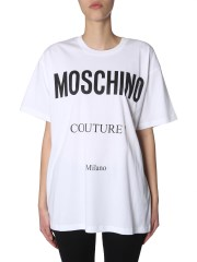 MOSCHINO - T-SHIRT IN JERSEY DI COTONE