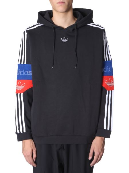 "Adidas Originals - ""trefoil"" Hooded Sweatshirt With Logo"