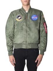"ALPHA INDUSTRIES - BOMBER ""MA-1 VF NASA"""