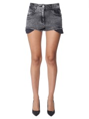 BALMAIN - SHORT IN DENIM