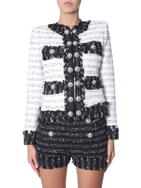 Balmain - Giacca In Tweed