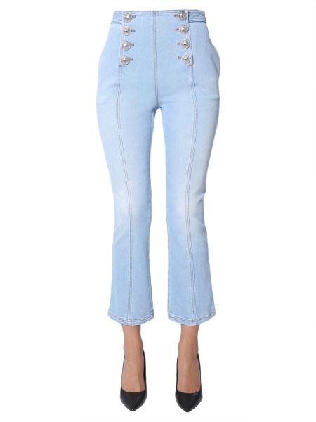 Balmain - Jeans A Vita Alta