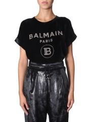 BALMAIN - T-SHIRT CON LOGO