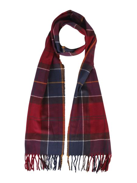 Barbour - Tartan Galingale Scarf With Fringes