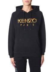 KENZO - FELPA CON CAPPUCCIO