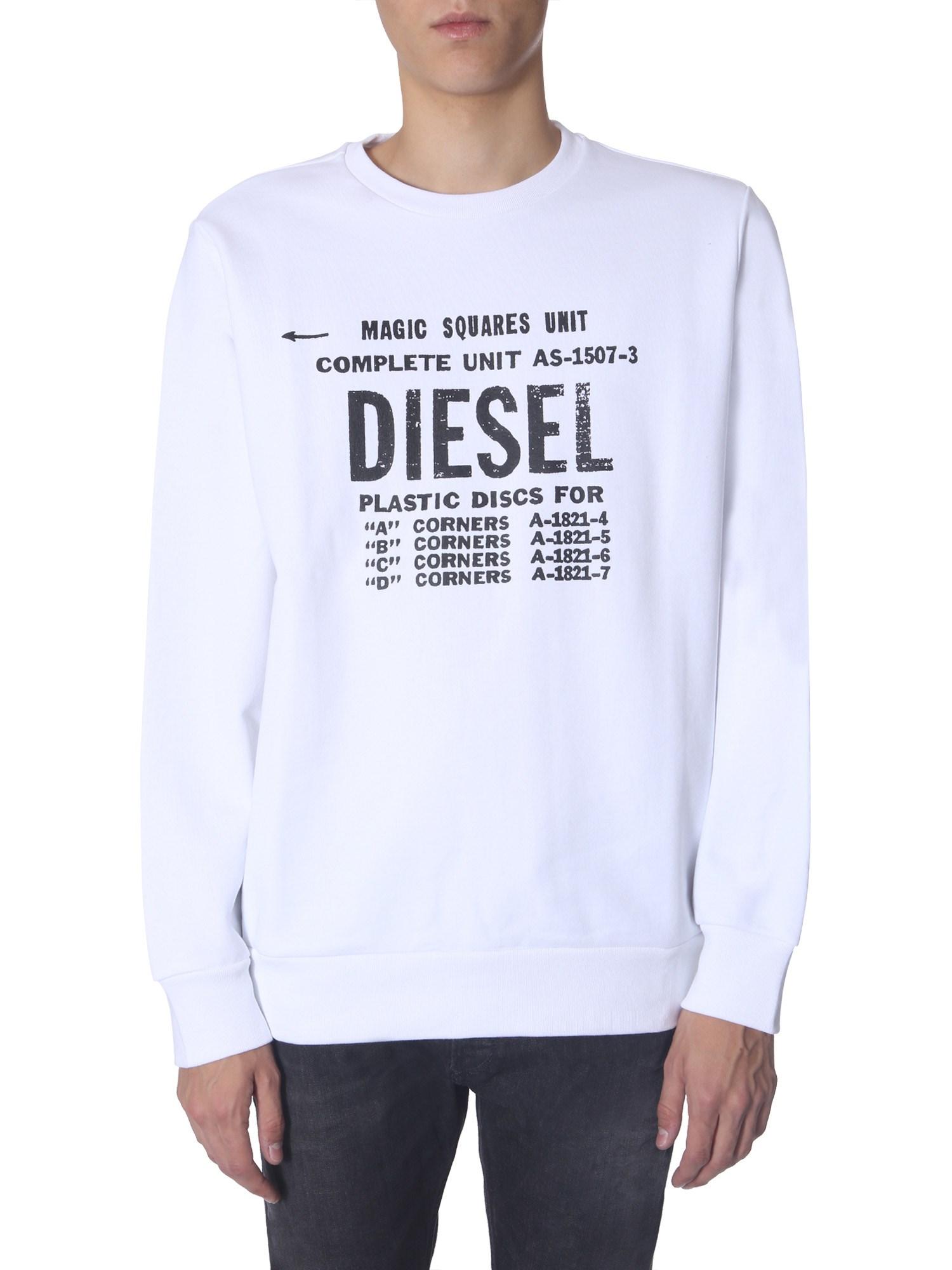 """Diesel  FELPA """"S-GIR-B5"""""""
