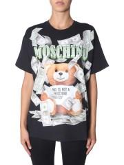 MOSCHINO - T-SHIRT DOLLAR TEDDY BEAR
