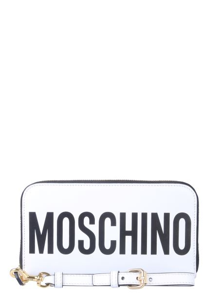Moschino - Zip Leather Wallet