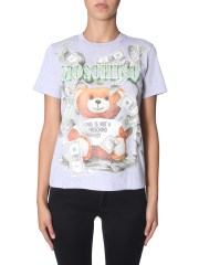 MOSCHINO - T-SHIRT DOLLAR TEDDY BEAR