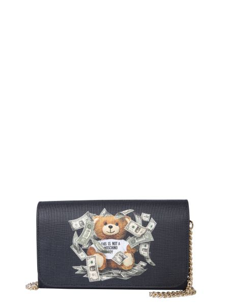 Moschino - Mini Teddy Bear Dollar Shoulder Bag