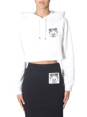 "MOSCHINO - FELPA ""TEDDY LABEL"""