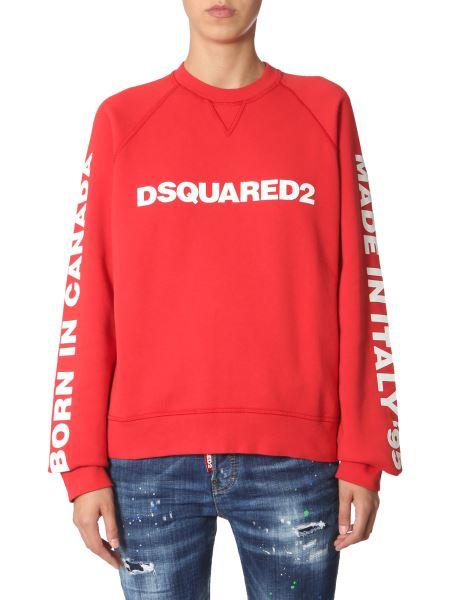 Dsquared - Cotton Sweatshirt With Logo