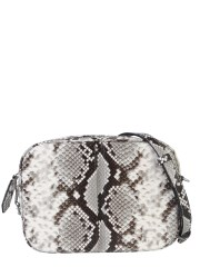 DSQUARED - CAMERA BAG CON STAMPA PITONE