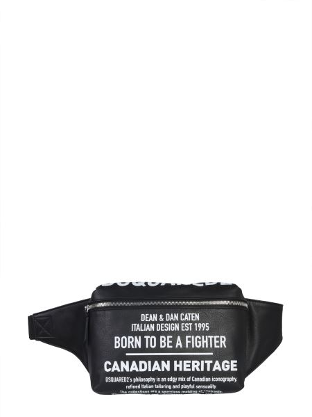 Dsquared - Leather Printed Pouch
