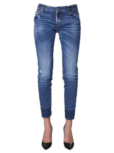 Dsquared - Medium Jennifer Fit Clean Wash Jeans
