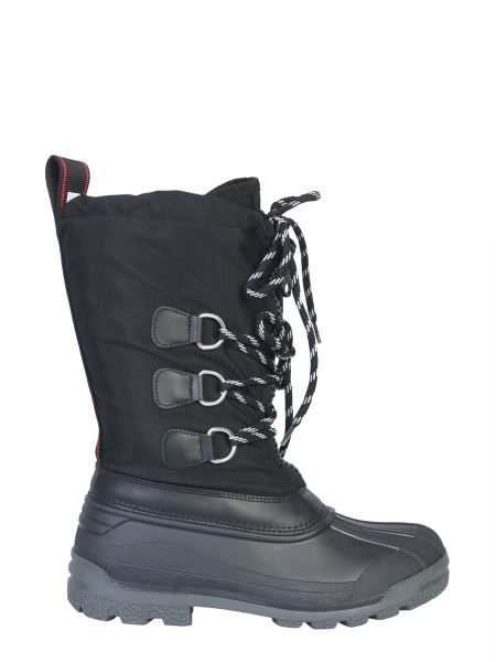 Dsquared - Nylon Boots With Logo