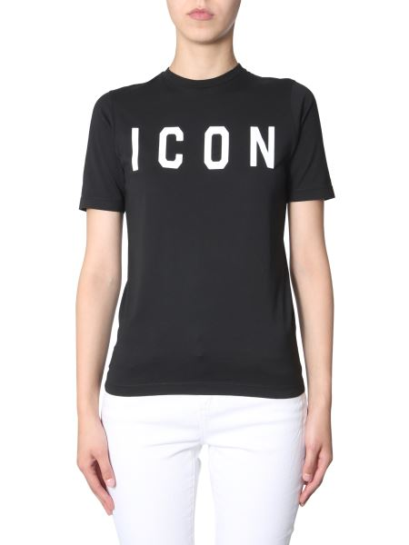 Dsquared - Renny Fit Cotton T-shirt With Icon Print
