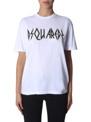 DSQUARED - T-SHIRT ROCK FIT