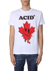 DSQUARED - T-SHIRT CON STAMPA ACID