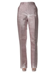 DSQUARED - PANTALONE IN SETA LUREX