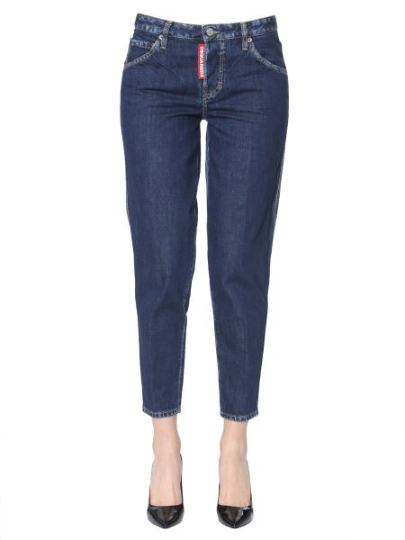 Dsquared - Bleach Washed Seams Hockney Jeans