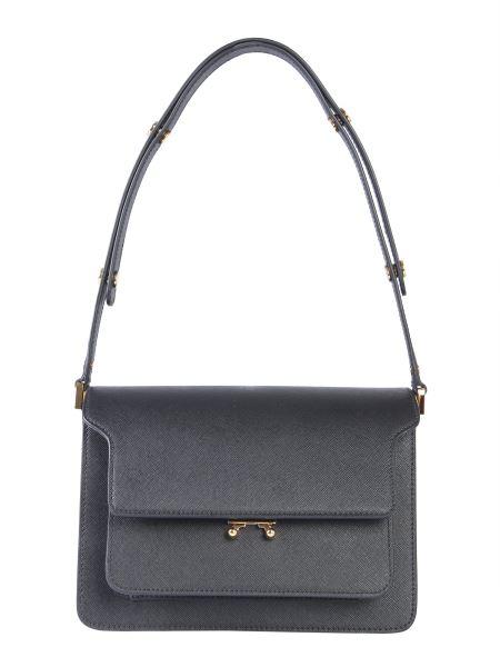 Marni - Saffiano Leather Trunk Shoulder Bag