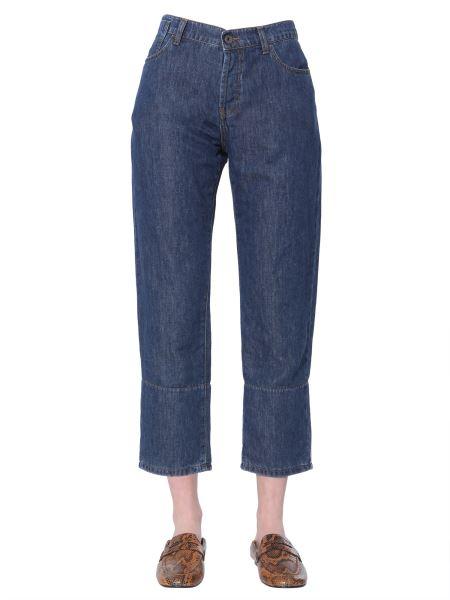 Marni - Jeans Cropped In Denim Stone Wash
