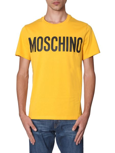 Moschino - Cotton T-shirt With Logo Print