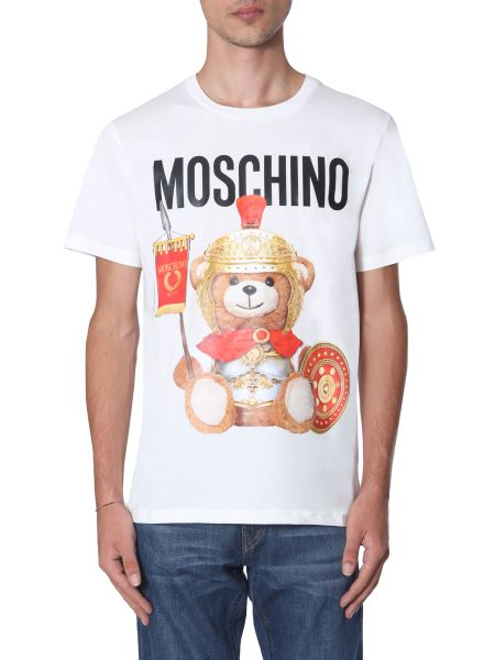 Moschino - Roman Teddy Bear Cotton Jersey T-shirt