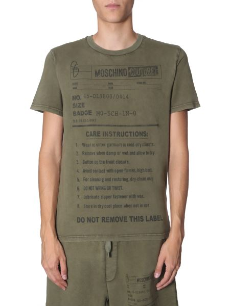 "Moschino - T-shirt ""army Label"""