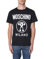MOSCHINO - T-SHIRT IN COTONE