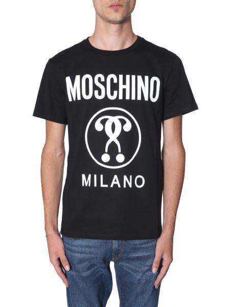 Moschino - T-shirt In Cotone