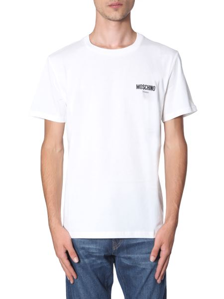Moschino - Cotton Jersey T-shirt With Logo