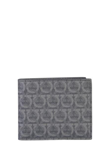 Salvatore Ferragamo - Iconic Print Leather Wallet