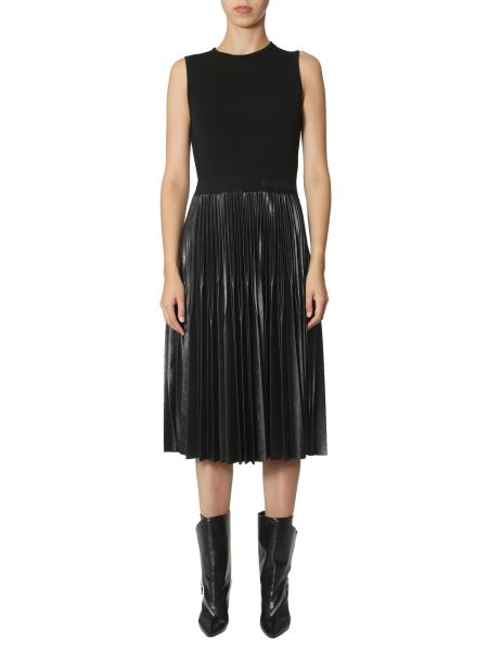 Givenchy - Midi Dress With Pleated Skirt