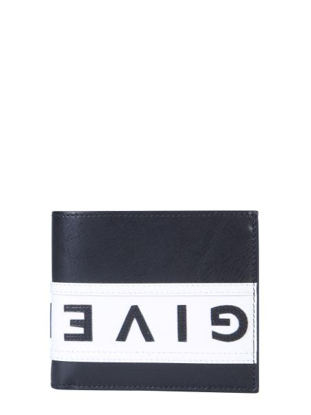 Givenchy - Portafoglio Bifold In Pelle