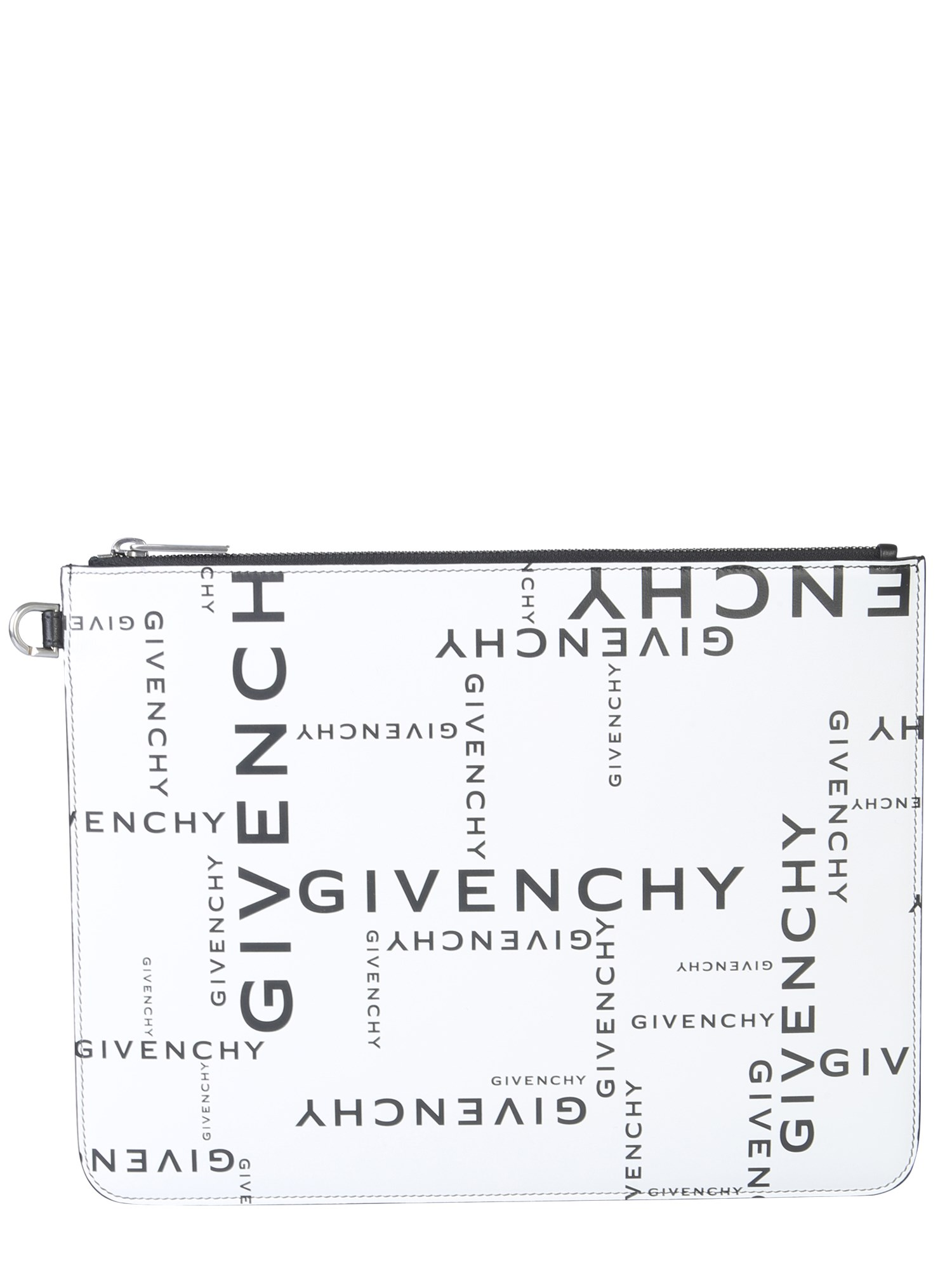 Givenchy  CLUTCH WITH LOGO PRINT