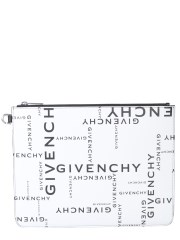 GIVENCHY - CLUTCH CON STAMPA LOGO