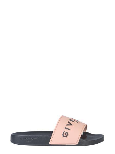 Givenchy - Slide Rubber Sandal With Logo