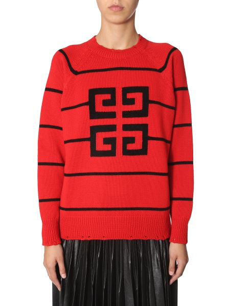 Givenchy - Wool Sweater With 4g Logo