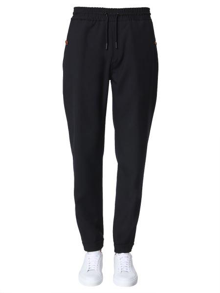 Givenchy - Pantalone Jogging In Lana Con Bottone Logato