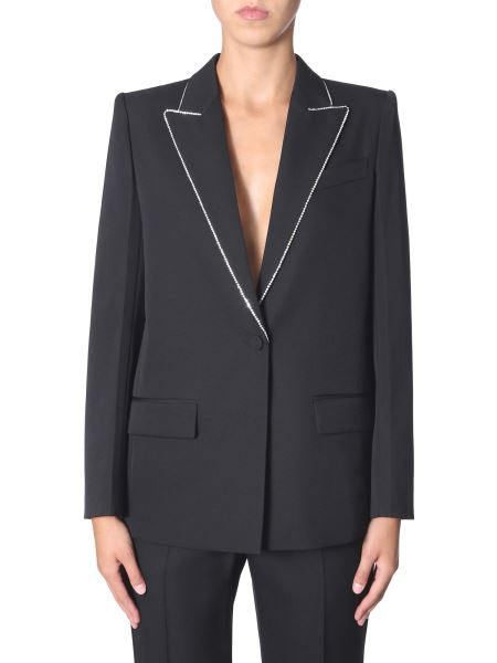 Givenchy - Wool Blazer With Strass