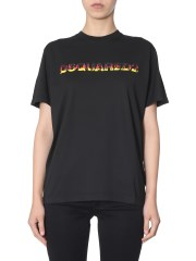 DSQUARED - T-SHIRT SMOKE FIT