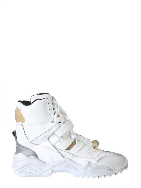 Maison Margiela - Sneaker Hi-top In Pelle